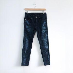 Escada Sport Bleach dye printed skinny Jeans - 34
